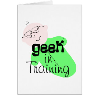 Geek in Opleiding Wenskaart
