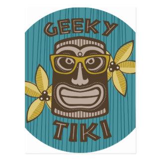 Geeky Tiki Briefkaart