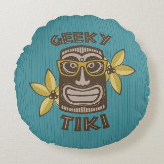 Geeky Tiki Rond Kussen