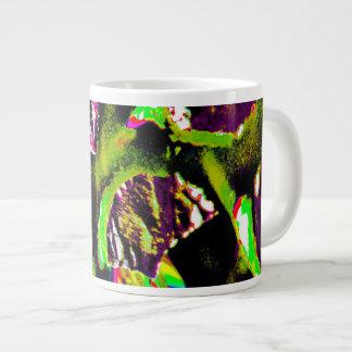 Geel Abstract Afbeelding op de Mok van de Koffie