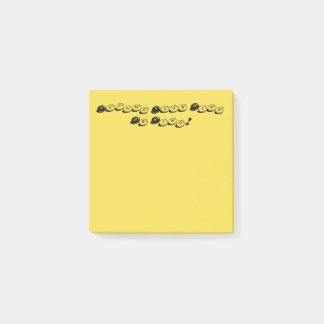 Geel breid Uw Mening uit is de Vriendelijke Nota's Post-it® Notes