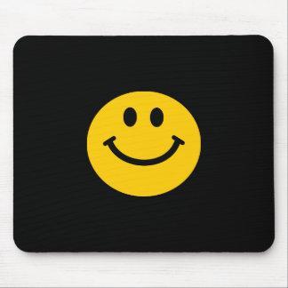 Geel Gezicht Smiley Muismat