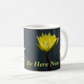 Geel Lotus Waterlilies Koffiemok