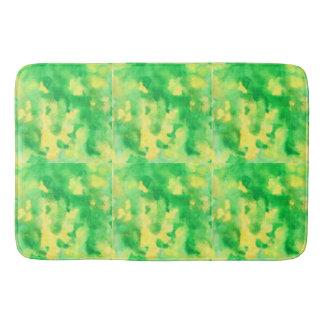 Geelgroene Grote Badmat