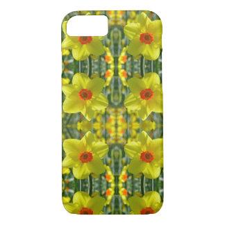 Geeloranje Gele narcissen 01.0.2.p iPhone 8/7 Hoesje