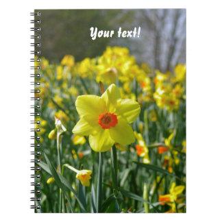 Geeloranje Gele narcissen 01.0.T Notitieboek