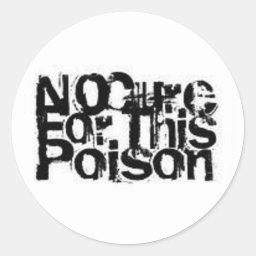 Geen Behandeling voor de Stickers van dit Vergift