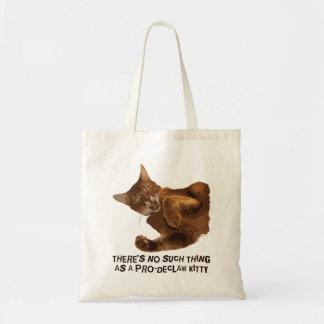 Geen Canvas tas van de Begroting van het Kat