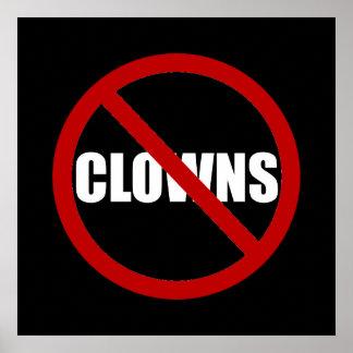 Geen Clowns Poster