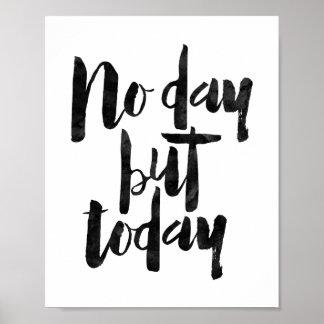 Geen Dag maar vandaag Poster