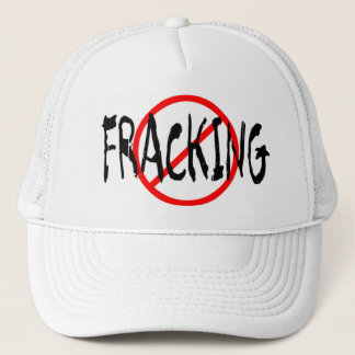 Geen Fracking Trucker Pet