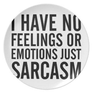 Geen Gevoel of Emoties Bord