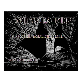 Geen Gevormd Wapen! Poster