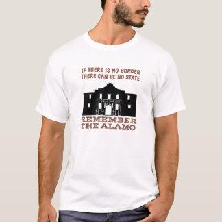 Geen Grens Geen Staat - herinner Alamo T Shirt