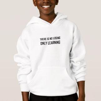 Geen het Verliezen van slechts het Leren Motto