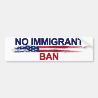 Geen ImmigrantenVerbod Bumpersticker