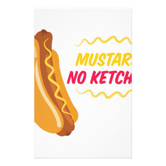 Geen Ketchup Briefpapier