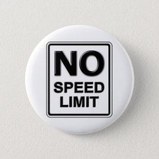 Geen Knoop van de Maximum snelheid Ronde Button 5,7 Cm