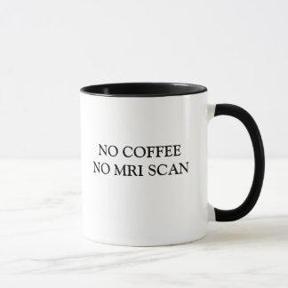 GEEN KOFFIE GEEN AFTASTEN MRI MOK