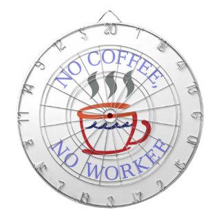 Geen Koffie Geen Workee Dartborden