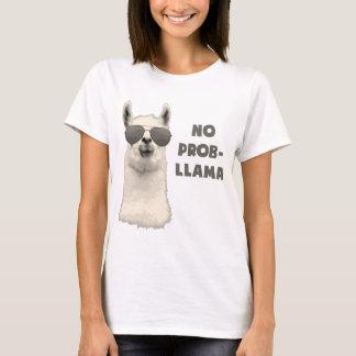 Geen Lama van het Probleem T Shirt