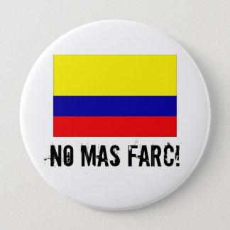 GEEN MAS FARC! knoop Ronde Button 4,0 Cm
