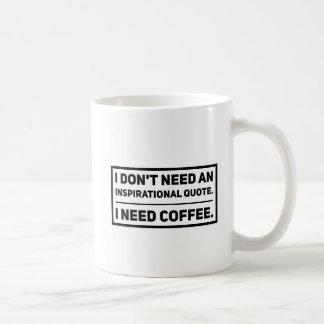 Geen Motivatie Citaten Koffiemok