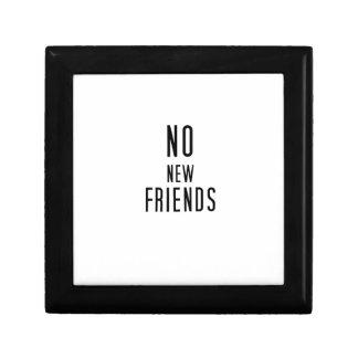 Geen Nieuwe Vrienden Decoratiedoosje