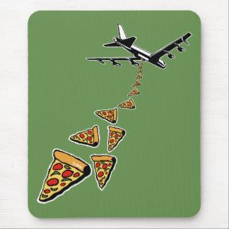Geen oorlog meer pizza muismat
