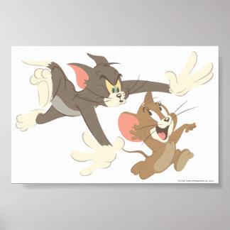 Geen-overzicht Tom en Jerry Chase Poster