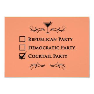 Geen partij zoals een cocktail party! kaart