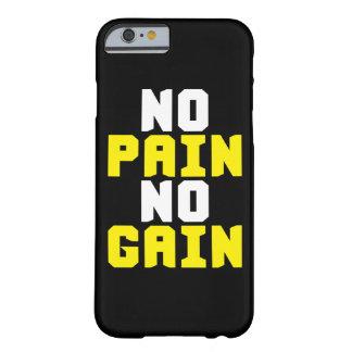 Geen Pijn, Geen Aanwinst - Motivatie de Training Barely There iPhone 6 Hoesje