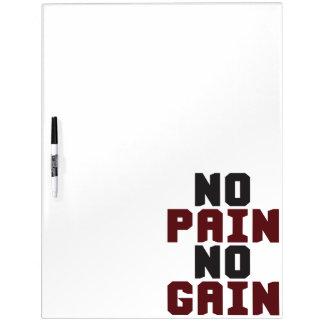 Geen Pijn, Geen Aanwinst - Motivatie de Training Whiteboards