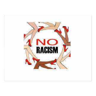 Geen racisme briefkaart