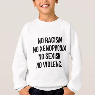 GEEN RACISME, GEEN HOMOPHOBIA, GEEN SEKSISME, GEEN TRUI
