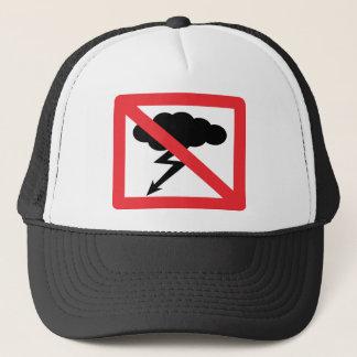 geen regen - geen onweersbui trucker pet