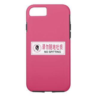 Geen Spuwen, Bus, Chinees Teken iPhone 8/7 Hoesje