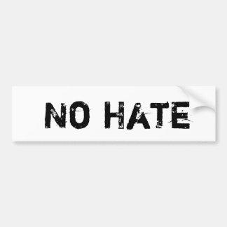Geen Sticker van de Bumper van de Haat Bumpersticker