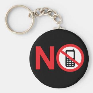 Geen Streek Keychain van de Telefoon Sleutelhanger
