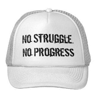 Geen Strijd. Geen Vooruitgang. Het Pet van de