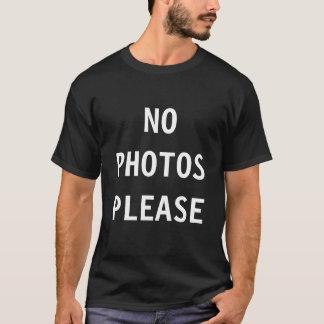 Geen t-shirt van Foto's tevreden