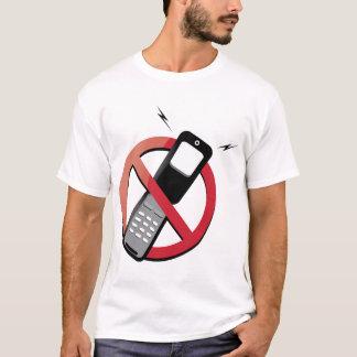 geen telefoons t shirt