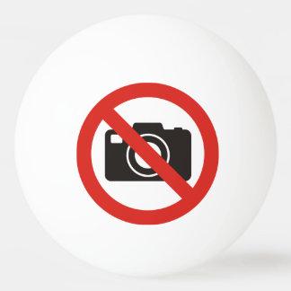 Geen Toegestane Foto's Pingpongballetjes