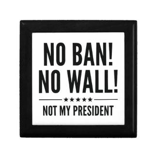Geen Verbod! Geen Muur! Decoratiedoosje