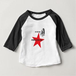 geen wuss maar eerlijk baby t shirts