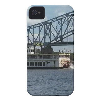 Geest van Dubuque op de Rivier van de Mississippi iPhone 4 Hoesje