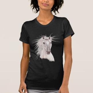 Geest van het Paard van de Wind - wijnoogst T Shirt