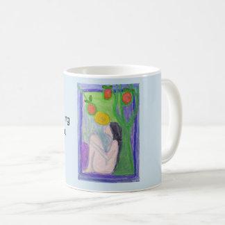 Geestelijk vindt de waarheid in u koffiemok