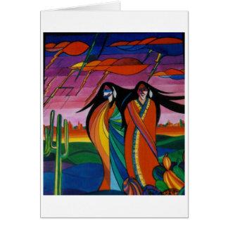Geesten FO de Woestijn Briefkaarten 0