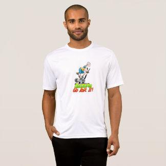 Geezers gaat voor het Man op Stationaire Fiets T Shirt